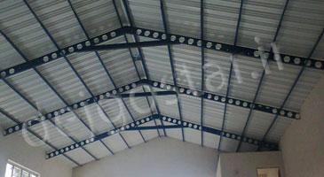 زیرسازی سقف سوله دژگستر