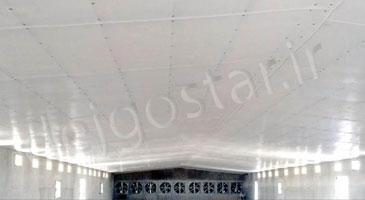 زیرسازی سقف سوله
